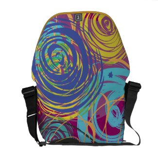ARTSY FARTSY HAND PAINTED Customizable Bag Courier Bags