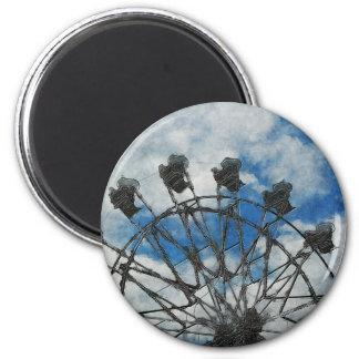 Artsy Ferris Wheel Refrigerator Magnets