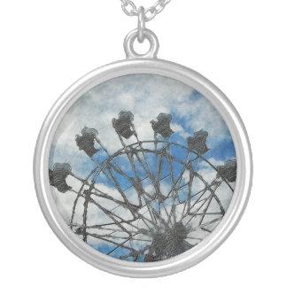 Artsy Ferris Wheel Custom Necklace