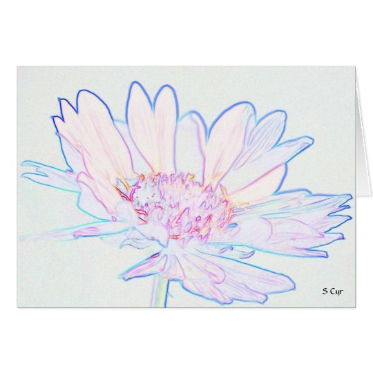 Artsy Flower, S Cyr Card
