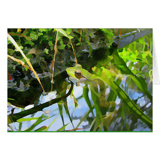 Artsy Frog Card