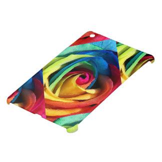 Artsy Geometric Rainbow Rose iPad Mini Case