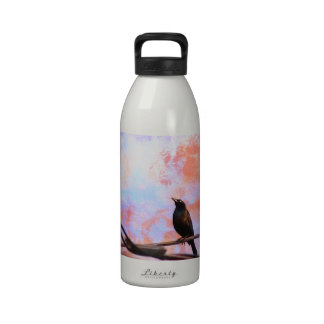 Artsy Grackle Water Bottles