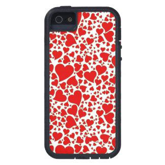 Artsy Holiday Hearts iPhone 5 Case