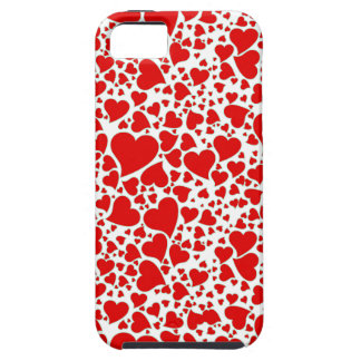 Artsy Holiday Hearts iPhone 5 Cover