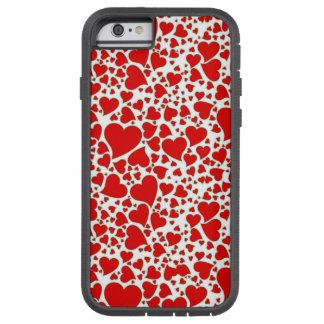 Artsy Holiday Hearts Tough Xtreme iPhone 6 Case