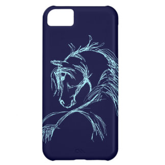 Artsy Horse Head Sketch iPhone 5C Cover