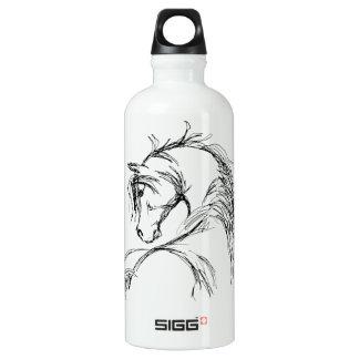 Artsy Horse Head Sketch SIGG Traveler 0.6L Water Bottle