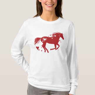 Artsy Horse Head Sketch T-Shirt
