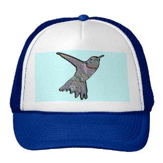 Artsy Hummingbird Trucker Hat