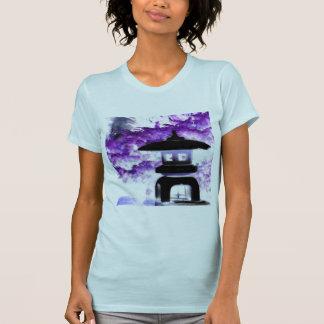 Artsy Japanese Pagoda Style Garden Lantern T-Shirt