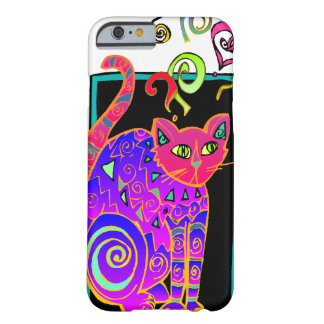 Artsy Kitty Barely There iPhone 6 Case