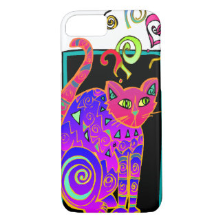 Artsy Kitty iPhone 7 Case