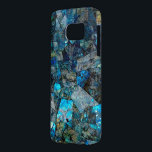 "Artsy Labradorite Abstract Gems Galaxy S7 Case<br><div class=""desc"">This image is a photograph of three-dimensional art made of labradorite,  a semi-precious stone. Due to labradorite&#39;s recent surge in popularity among jewelry artists and fans alike,  this case should be popular with all types of people who love natural beauty.</div>"
