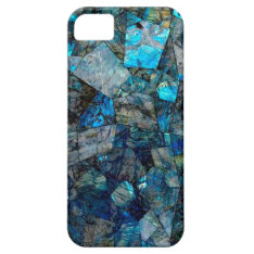 Artsy Labradorite Abstract Gems Iphone 5/5s Case at Zazzle