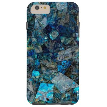 Artsy Labradorite Abstract Gems iPhone 6 Plus Case at Zazzle