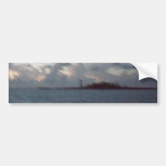 Artsy Lighthouse Bumper Sticker
