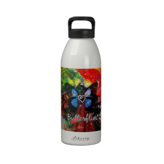 Artsy Love Butterfly Drinking Bottles
