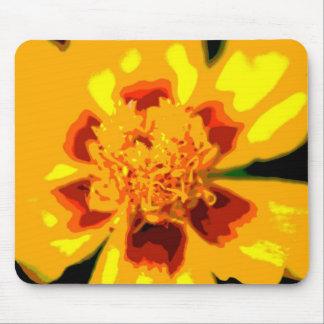 Artsy Marigold Mousepad