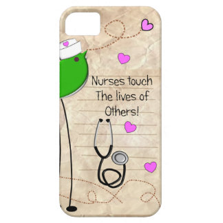 Artsy Nurse Bird iPhone SE/5/5s Case