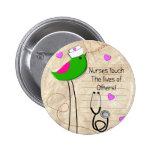 Artsy Nurse Bird Pins