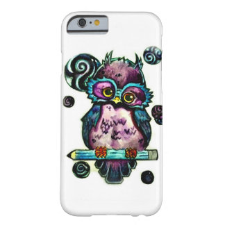 Artsy Owl Barely There iPhone 6 Case