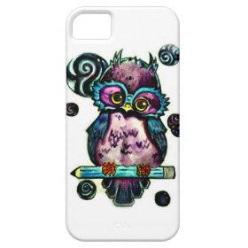 Artsy Owl iPhone 5 Case