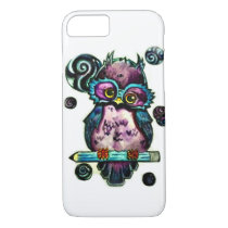 Artsy Owl iPhone 8/7 Case
