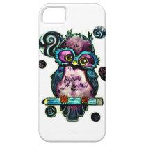 Artsy Owl iPhone SE/5/5s Case