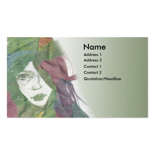 Artsy painting card business card zazzle for Artsy business cards