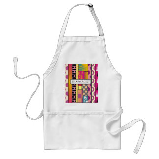 Artsy Pharmacist Gifts Adult Apron