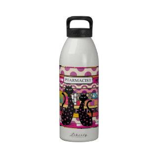 Artsy Pharmacist Gifts Drinking Bottle