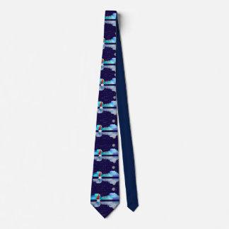 Artsy Pharmacist's Sailboat Tie