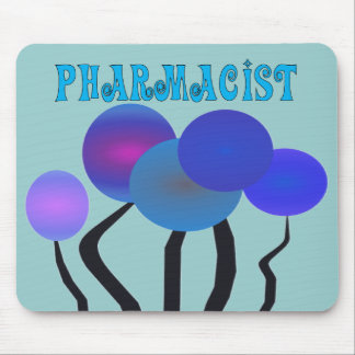 Artsy Pharmcist Gifts Mouse Pads