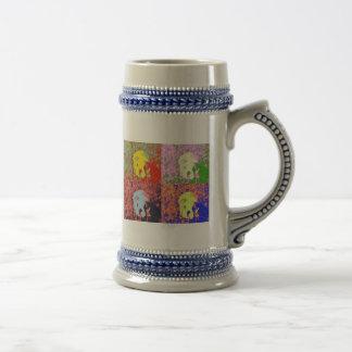 Artsy puppy coffee mug