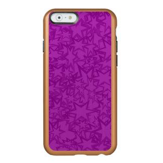 Artsy Purple Stars Incipio Feather Shine iPhone 6 Case