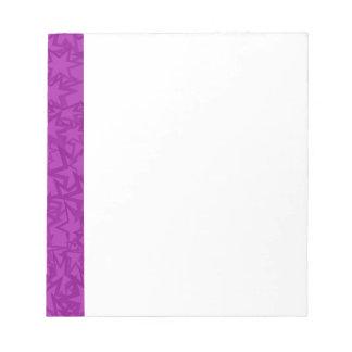 Artsy Purple Stars Notepad