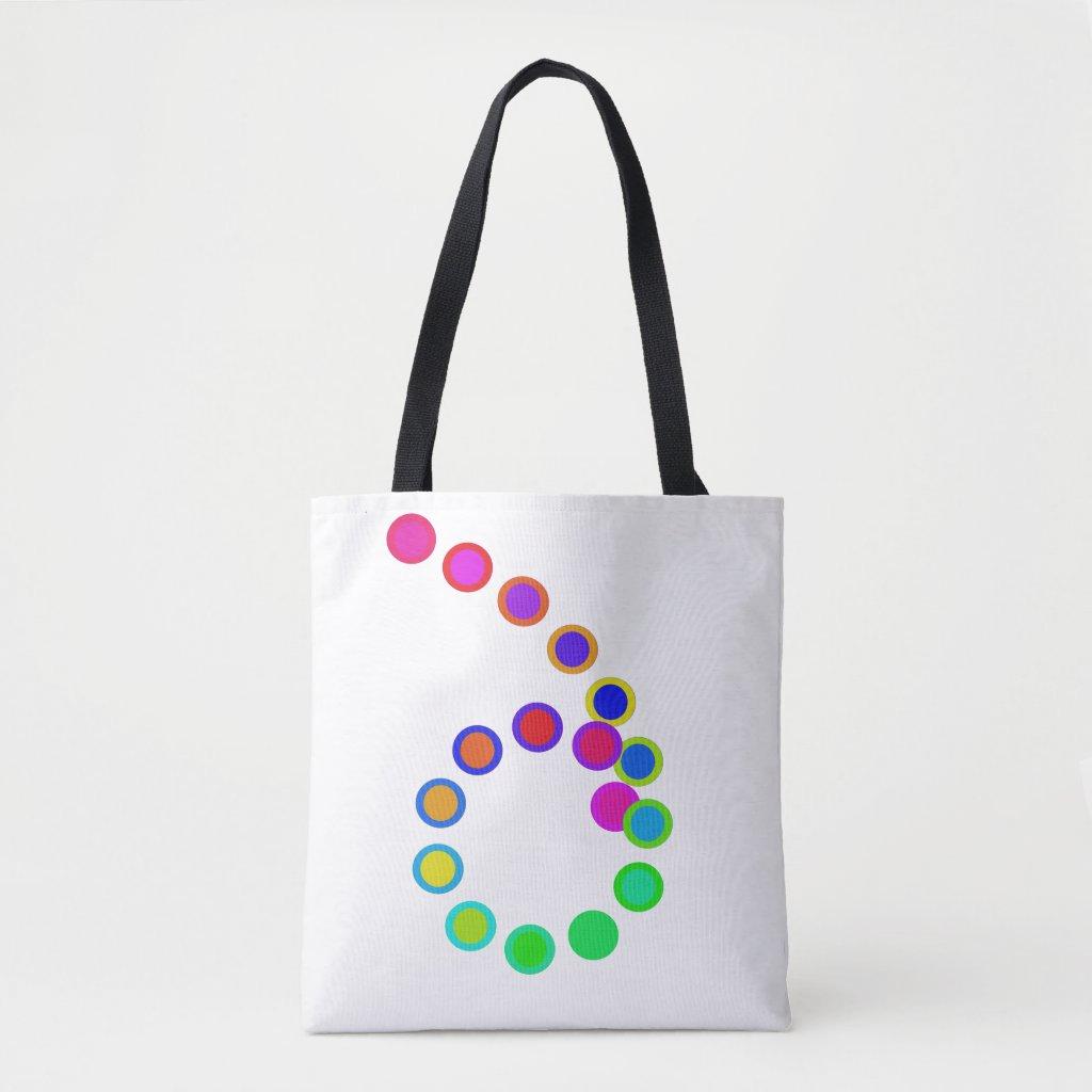 Artsy Rainbow Colors Beach Bags PRIDE Diversity