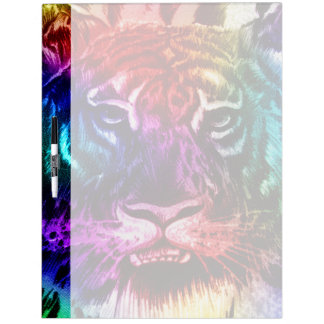 Artsy Rainbow Tiger Dry-Erase Whiteboard
