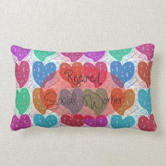 Artsy Retired Social Worker Pillow