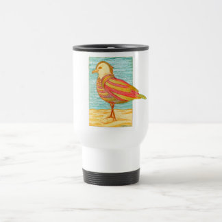 Artsy Seagull Travel Mug