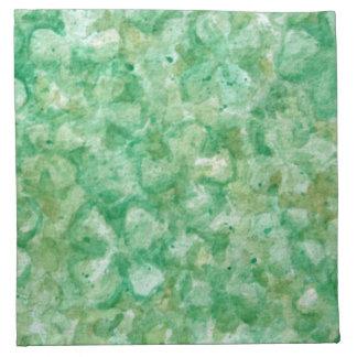 Artsy Shamrock Art Cloth Napkin