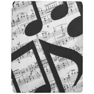 Artsy Sheet Music iPad Cover