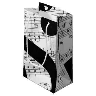 Artsy Sheet Music Small Gift Bag