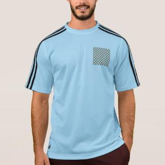 Artsy Teal & Orange Circles T-shirts