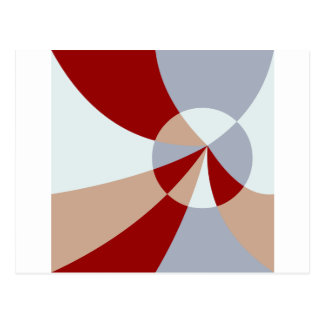 Artsy Tessellation Postcard