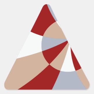Artsy Tessellation Triangle Sticker