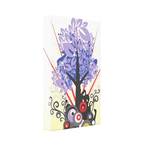 Artsy Tree Gallery Wrap Canvas