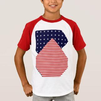 Artsy US Flag T-Shirt
