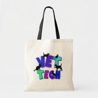 Artsy Vet Tech Gifts, Unique artist drawn design Bag